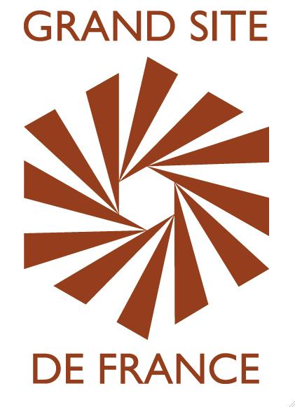 Logo associé à un un territoire et/ou lieu ayant obtenu le label Grand Site de France.